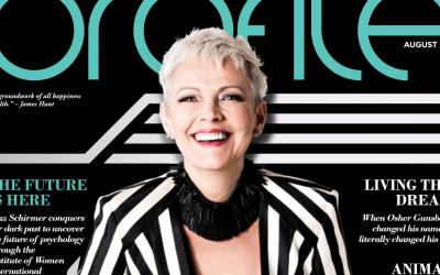 Maz Schirmer Profile Magazine Cover Story