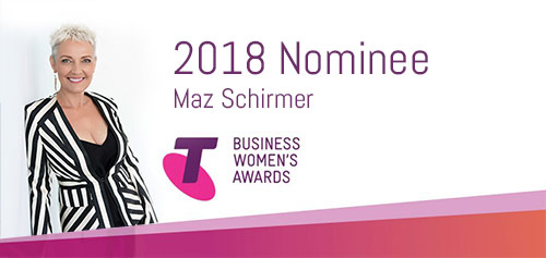 Maz Nominated in the 2018 Telstra Women's Business Awards